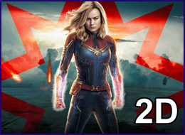PWB - Captain Marvel 2D